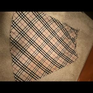 Burberry A-lined skirt!